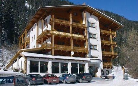 Rakousko - Tyrolsko na 4 až 8 dní, polopenze nebo bez stravy s dopravou vlastní