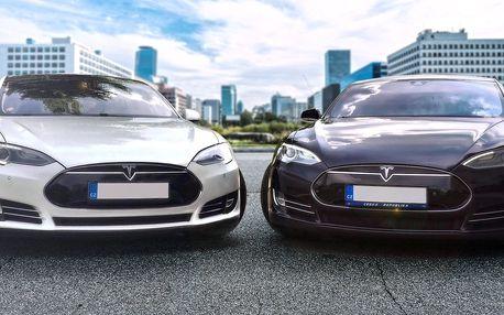 Jízda v luxusním elektromobilu Tesla Model S i X