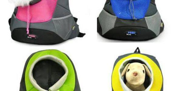 AKCE! Bezpečný cestovní batoh pro pejsky