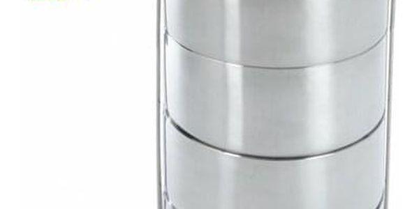 Orion Nerezový jídlonosič 4x0,9 l