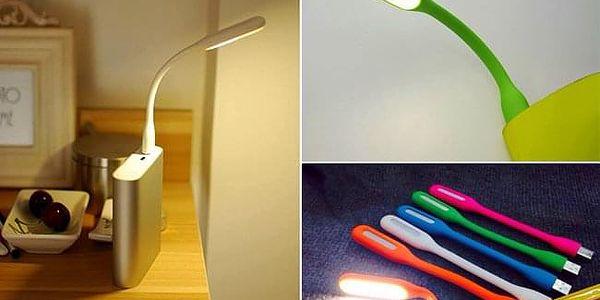 TIP! USB Lampička - barevná Barva: Bílá4