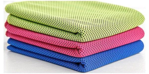 TIP! Chladící ručník 90x32 cm Barva: Růžový2