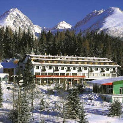 Zimní wellness pobyt na Štrbském Plese v 3* hotelu Toliar s polopenzí