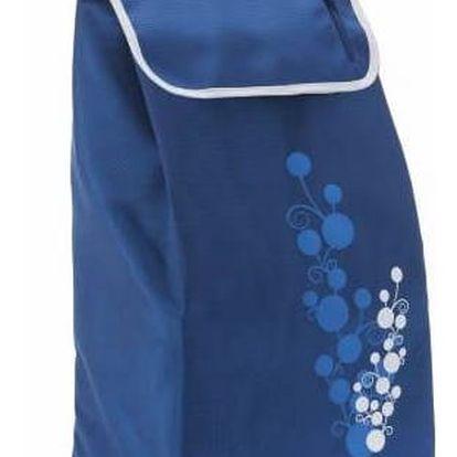 Gimi Nákupní taška na kolečkách Twin modrá, 56 l