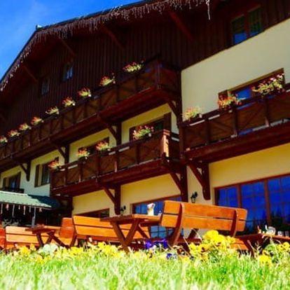 Slovensko - Nízké Tatry na 3 až 8 dní, polopenze nebo snídaně s dopravou vlastní