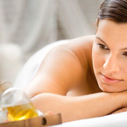 30 či 60 minut aromatické levandulové masáže