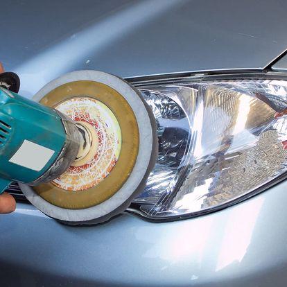 Rozleštění světlometů s keramickou ochranou