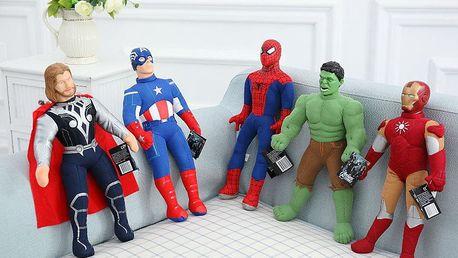 Marvel – plyšové postavičky hrdinů