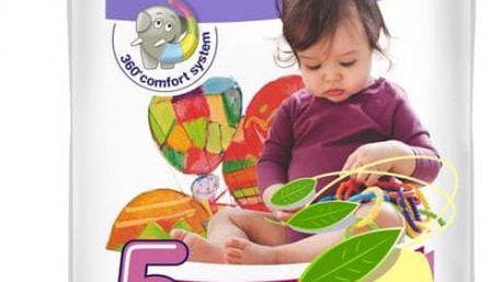 4x BELLA HAPPY Junior 5 (12-25kg) Big Pack 58 ks - jednorázové plenky