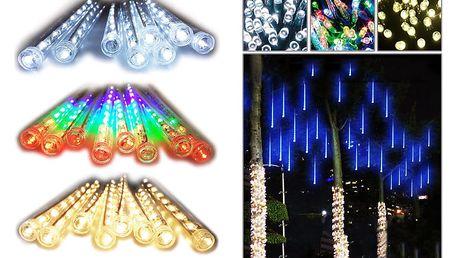 LED světelné rampouchy – 2 barvy – 30 cm