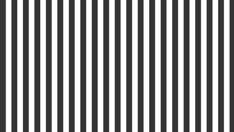 IB LAURSEN Balicí papír Black stripes 10 m, černá barva, bílá barva, papír