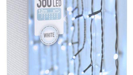Světelný řetěz Icicle bílá, 360 LED