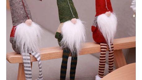 Vánoční dekorace skřítek