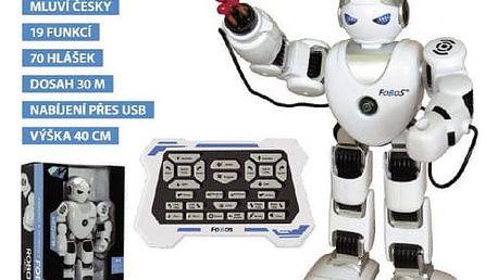 Robot RC FOBOS interaktivní chodící 40cm