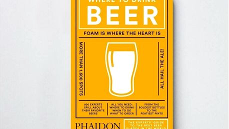 Where to Drink Beer, žlutá barva, papír