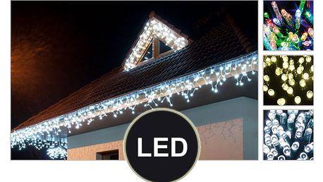 LED vánoční závěs do okna – déšť 2,5 metru