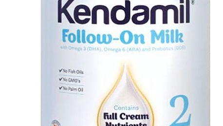 3x KENDAMIL Pokračovací mléko 2 (900 g)