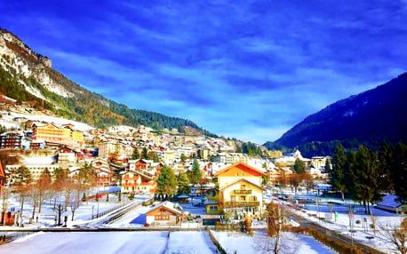 Dolomity: lyžování s polopenzí a fitness
