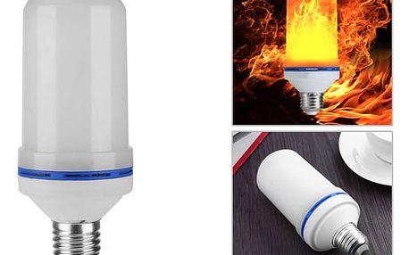 LED žárovka s efektem plamenu - E27