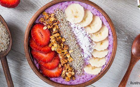 Smoothie bowl podle výběru z 5 druhů s ovocem