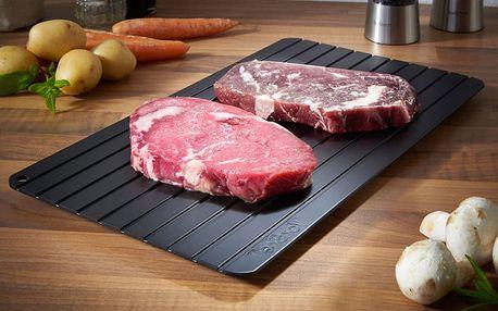 Rozmrazovací podložka pro rychlé rozmrazení potravin
