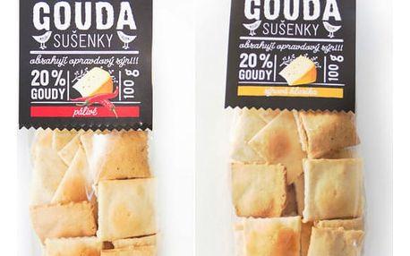 Sýrové sušenky Gouda 100 g