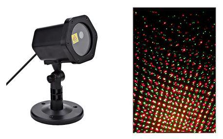 Vánoční laserový projektor - Tančící světelné body