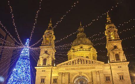 Maďarsko - Budapešť Adventní na 1 den, bez stravy s dopravou autobusem