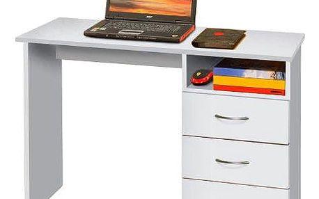 Smartshop Psací stůl P44-I, bílá