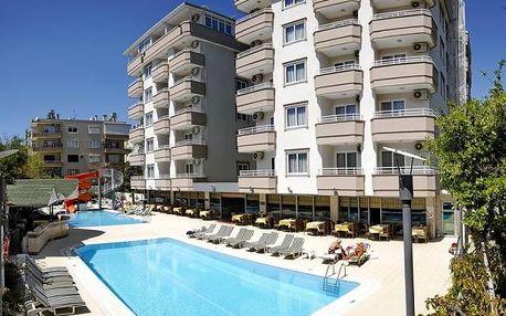 Turecko - Alanya na 12 dní, all inclusive s dopravou letecky z Prahy 200 m od pláže