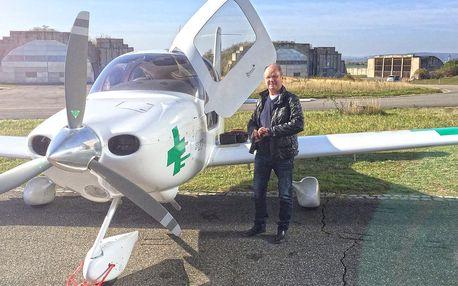 Vyhlídkový let nad Pálavou až pro 2 osoby