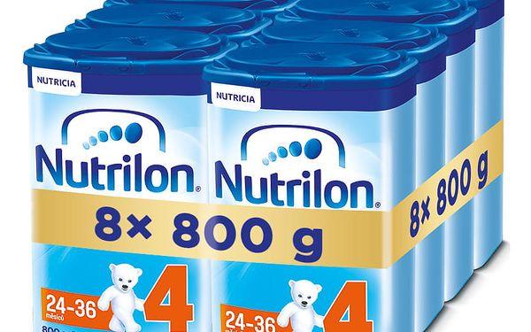 8x NUTRILON 4 (800g) - kojenecké mléko