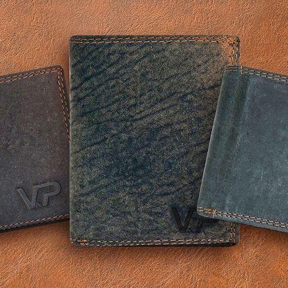 Pánské kožené peněženky z buvolí kůže