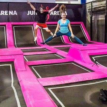 Trampolíny a nafukovací atrakce v Jump Areně
