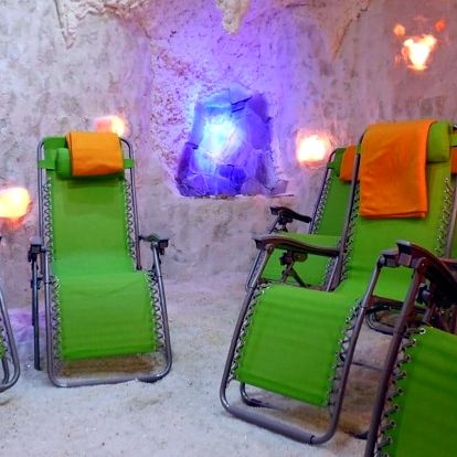 Relax i posílení zdraví: 50 minut v solné jeskyni