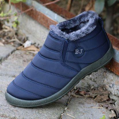 Unisex zimní boty se zateplením
