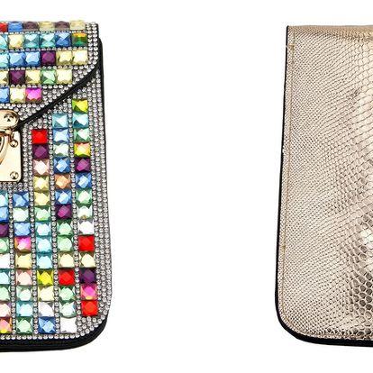 Fashion Icon Kabelka společenská malá s krystaly PS0005-17