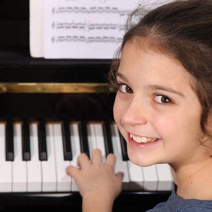 Kurz základů hry na klavír v délce dle výběru