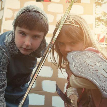 Dětská úniková hra pro až 5 hráčů: Tajuplný Hrad