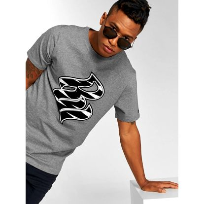 Rocawear / T-Shirt RW Zebra S in grey L