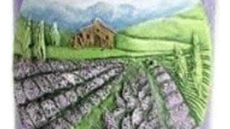 Vonná svíčka lán levandule je pěkným dárkem, ale i zajímavým bytovým doplňkem.