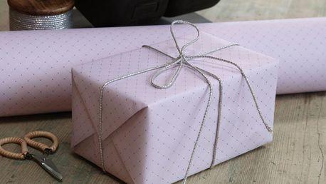 Chic Antique Balicí papír Elegant Old Rose 10m, růžová barva, papír