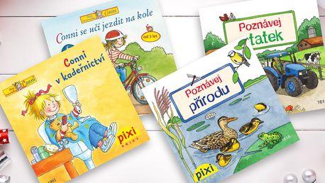 Sada naučných kapesních knížek Pixi pro děti