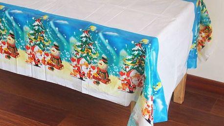 Vánoční ubrus - nepropustné provedení