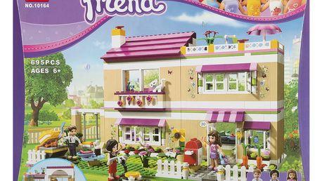 BELA Stavebnice Olivia a její dům - 695 ks