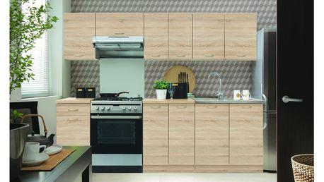Kuchyně SONJA 2, 180/240 cm, dub sonoma