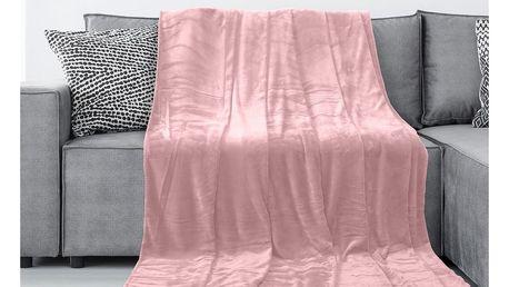 DecoKing Deka Tyler světle růžová, 150 x 200 cm