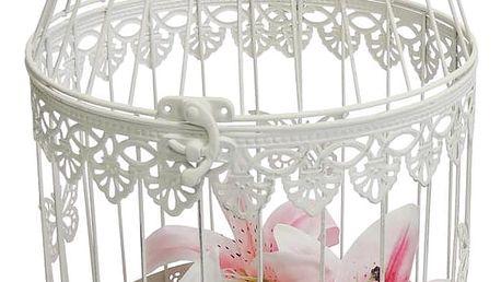 Stardeco Dekorativní klec Papillon, 34 cm, 34 cm