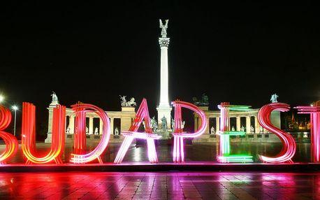 Výlet do jednodenní Budapešti na Silvestra