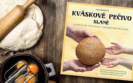 Kniha Kváskové pečivo slané od Hany Bačíkové